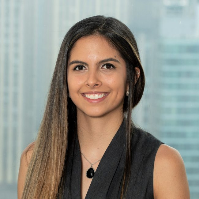 Isabela Peralta, Onsite Analyst