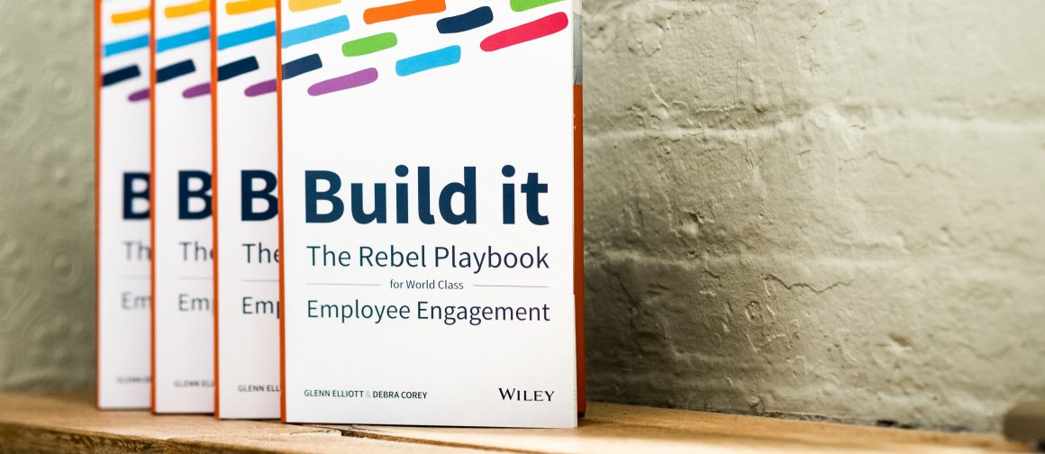 Build it The Rebel Playbook for World Class Employee Engagement book