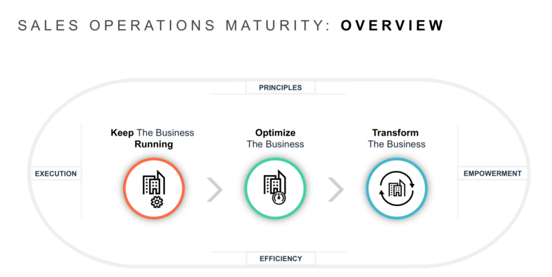 Insight's Sales Ops Maturity Model