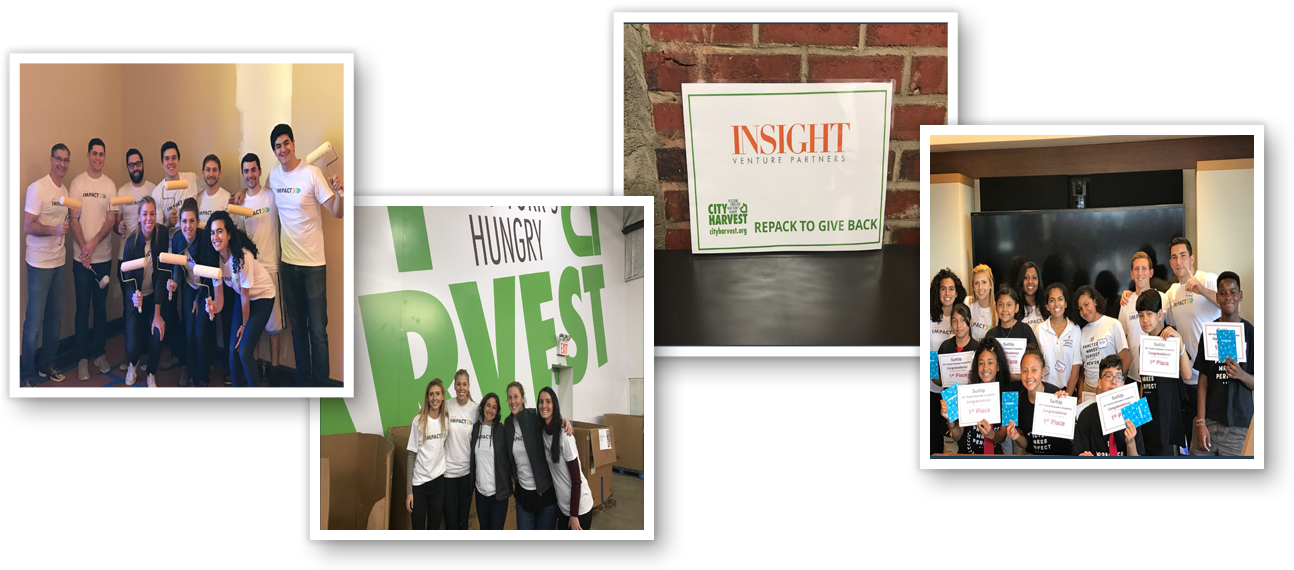 insight impact collage
